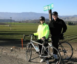 John and Diane Chadwell have been riding for decades and experienced their first serious accident Dec. 10. Their helmets are credited with saving their lives. Photo by John Chadwell.