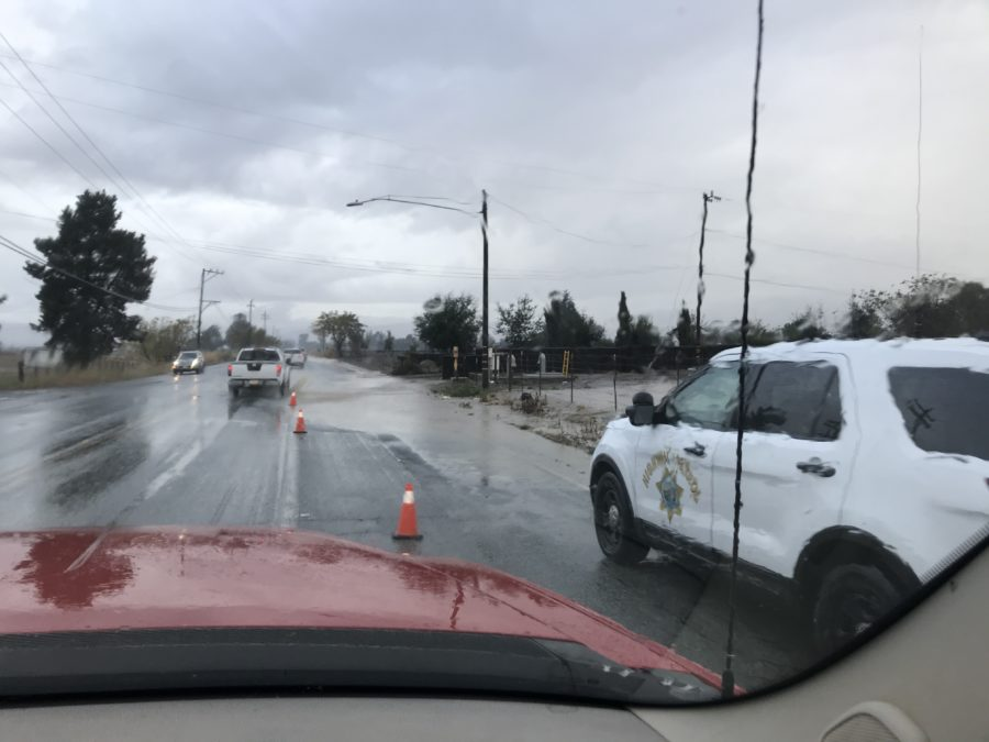 Flooding at Fairview Road and McCloskey Road.