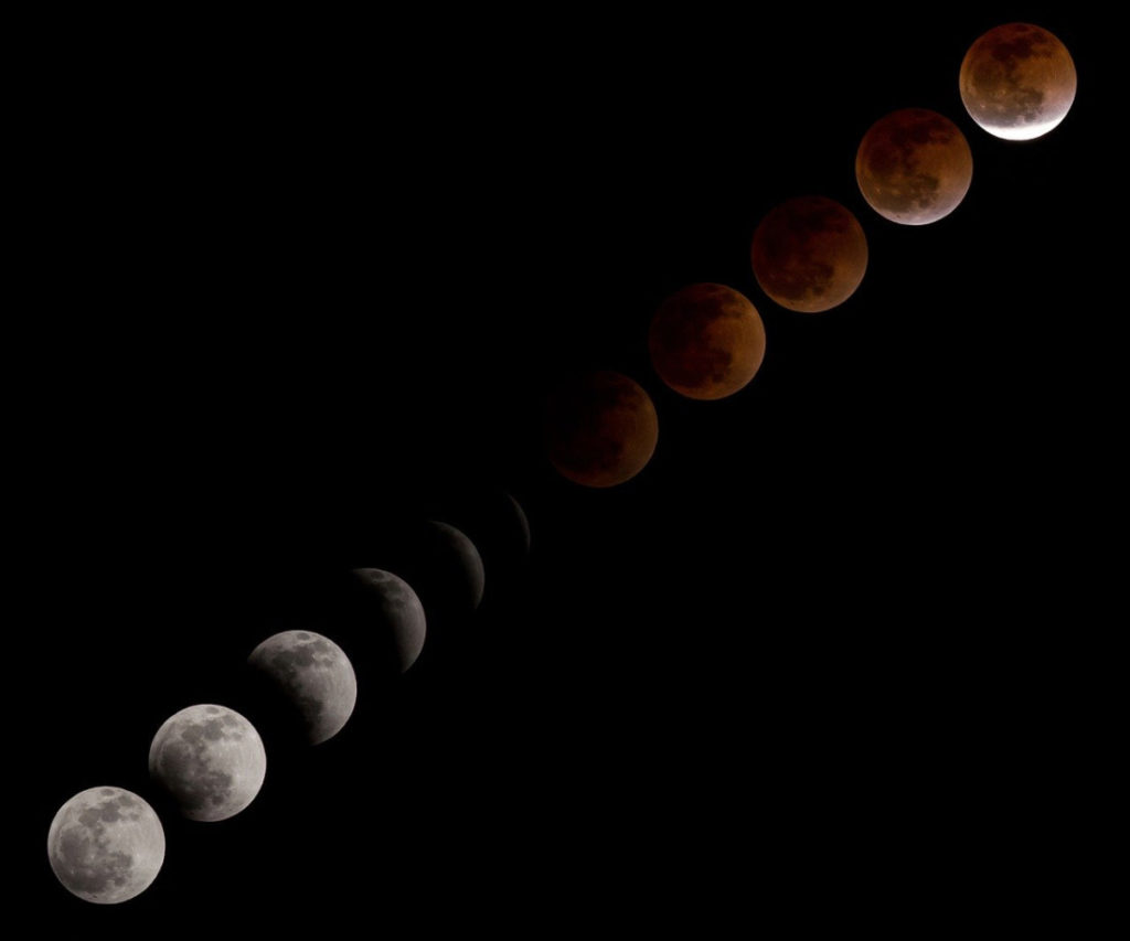 Lunar Eclipse. Photo provided by Pixabay.