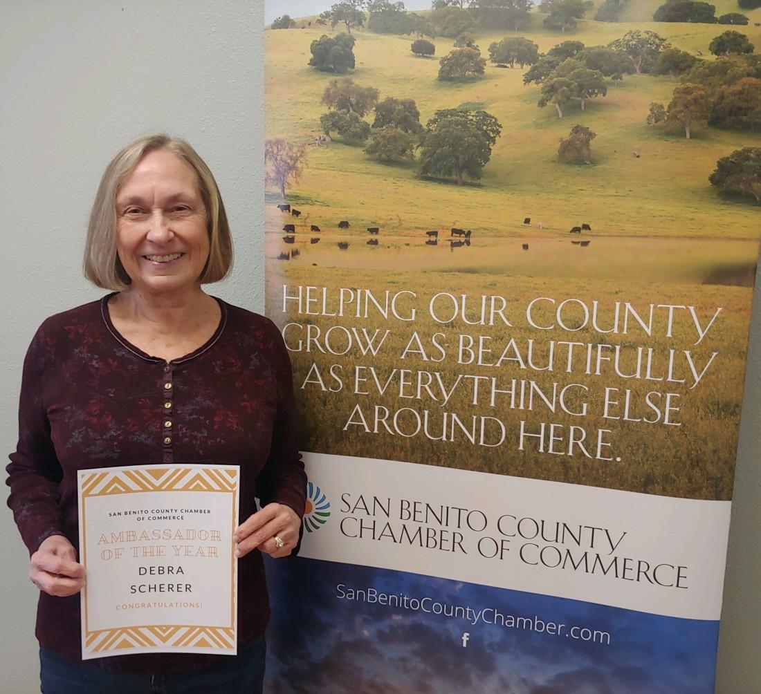 Ambassador of the Year: Debra Scherer.
