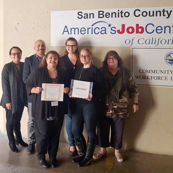 Service Business of the Year: San Benito County Health and Human Services.