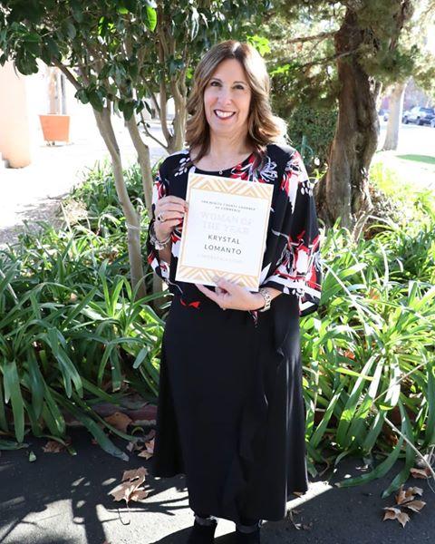 Woman of the Year: Krystal Lomanto.