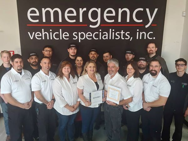 Large Business of the Year: Emergency Vehicle Specialists.