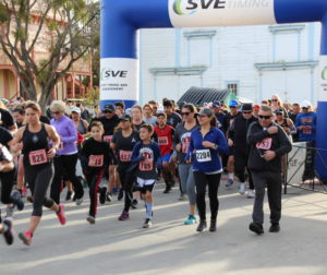 5K start at the 2019 Mission 10 Race in San Juan Bautista. Photo provided.