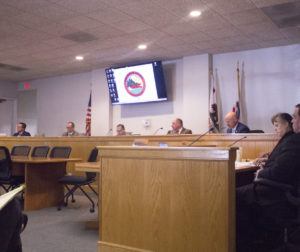 The San Benito County Board of Supervisors at a Jan. 14 meeting. Photo by Noe Magaña.