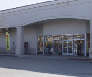 Customers on their way into the Hollister Kmart. Photo by Noe Magaña.