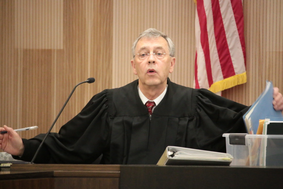 Superior Court Judge Steven Sanders set a new trial date of March 9.