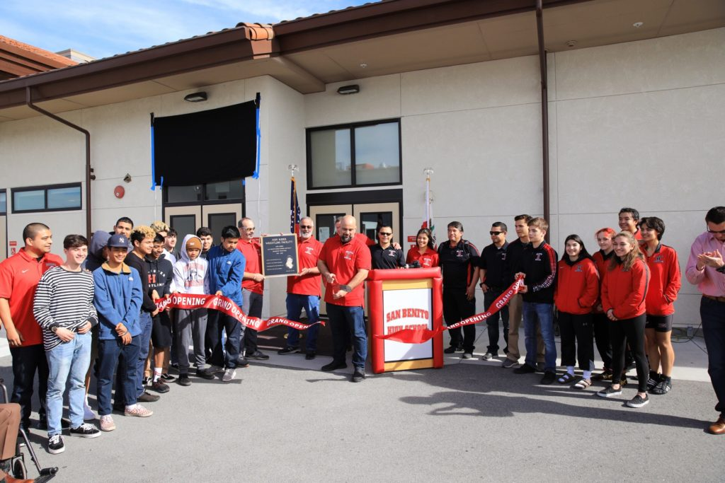 A ribbon-cutting was held as the facility was dedicated. Photos provided by SBHS.