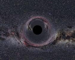 Black hole. Photo provided by David Baumgartner.