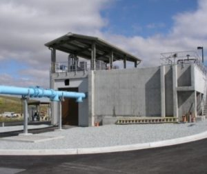 Water Treatment Plant. Photo provided by John Freeman.