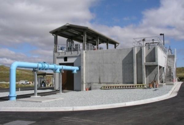 Water Treatment Plant. Photo provided by John Freeman.