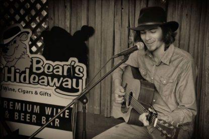 Zack Freitas at Bear's Hideaway. Photo by Robert Eliason.
