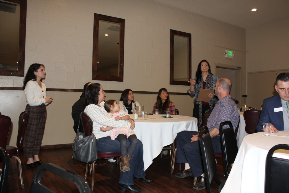 Forum attendees. Photo by Carmel de Bertaut.