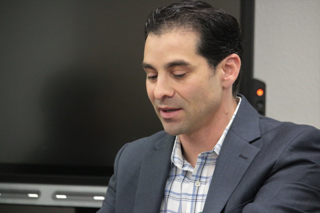 Dr. Ariel Hurtado said Underwood's departure was a mutual agreement.