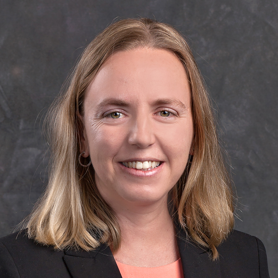 Alexis Winder, financial advisor. Photo provided by the Community Foundation.
