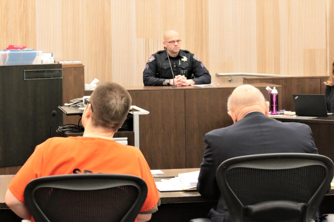 Hollister police officer Bo Leland testified that Larios confessed to killing De La Rosa