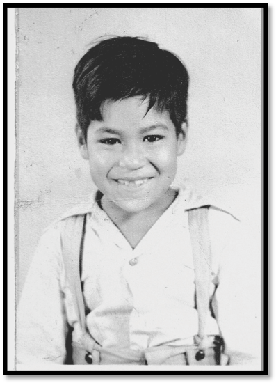 The young Luis Valdez. Photo courtesy of El Teatro Campesino.