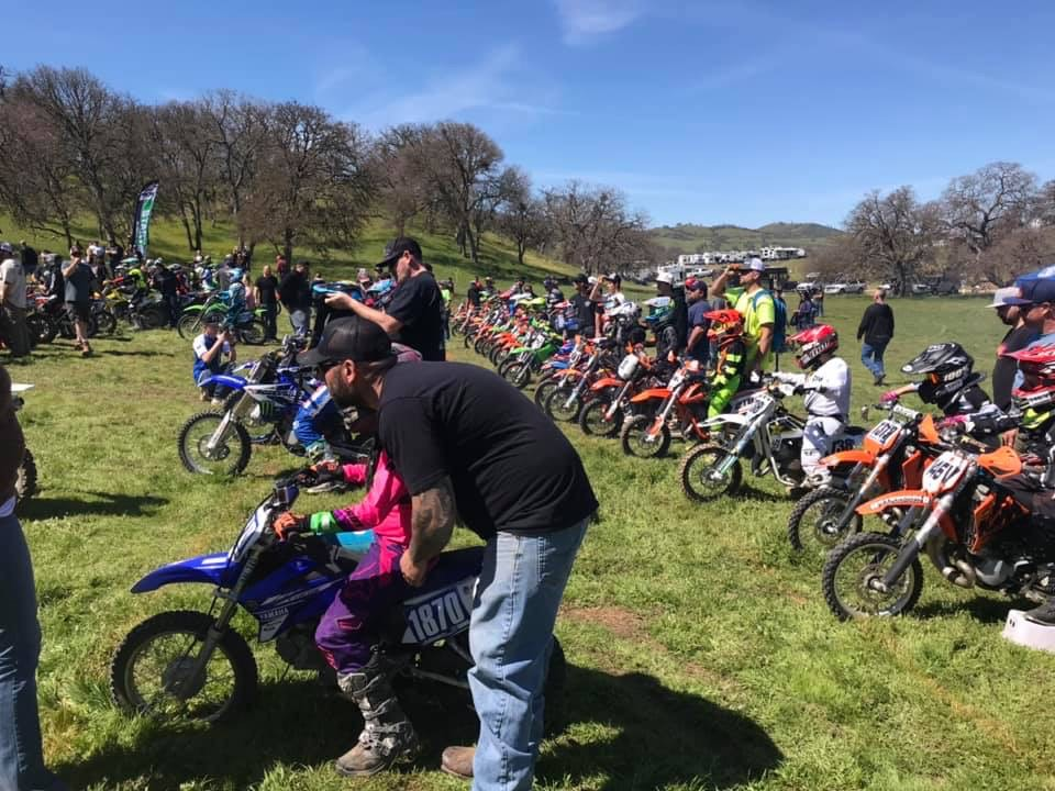 The Lazy Bumb Hare Scramble in 2019. Photo provided by Brian Garrahan.