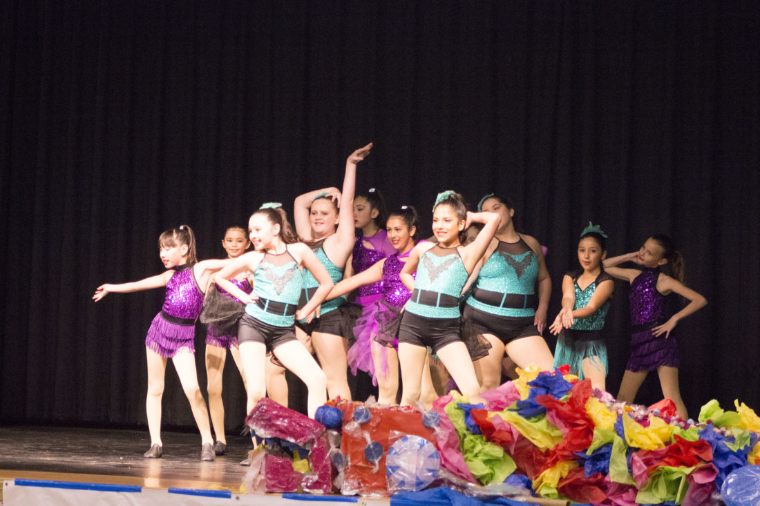 Flying Colors members perform at the San Benito County Arts Showcase on Feb. 13. Photo by Noe Magaña.