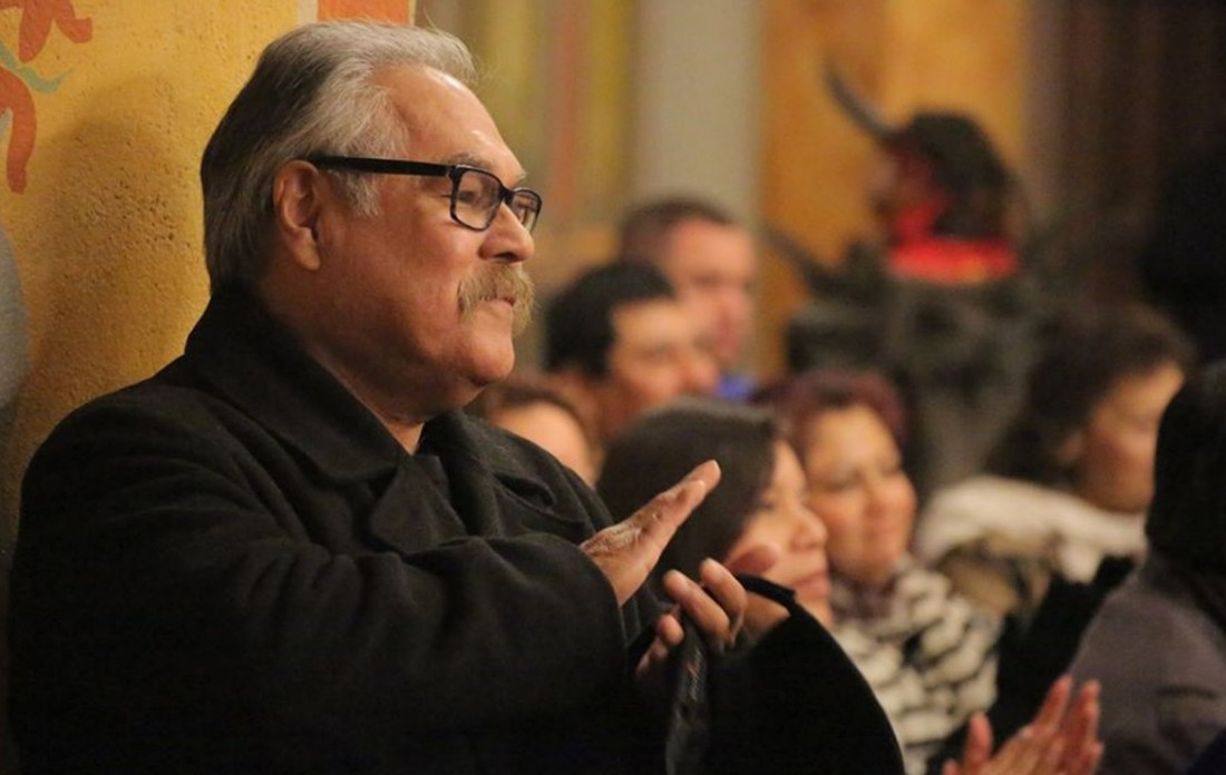 Luis Valdez, playwright and founder of El Teatro Campesino in San Juan Bautista. Photo by Robert Eliason.