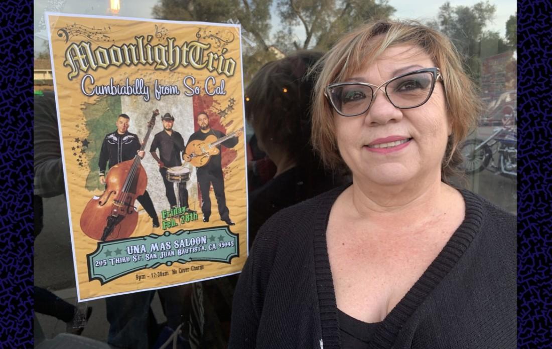 Yolanda Torres, owner of Una Mas Saloon. Photos by Robert Eliason.