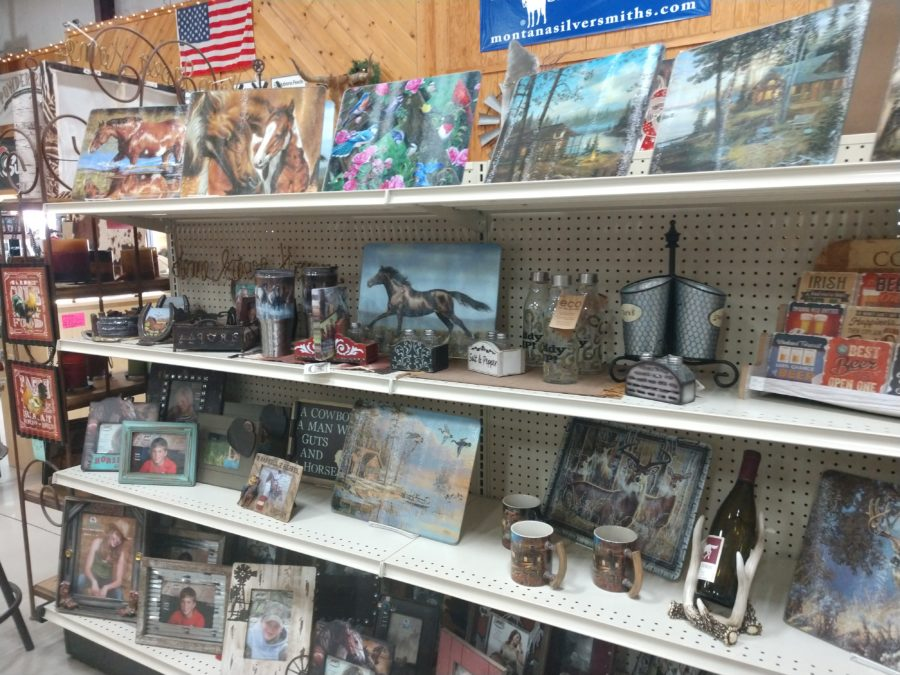Ranchers not only sells ranch and farm supplies, it also sells gifts and western clothing. Photo by Carmel De Bertaut