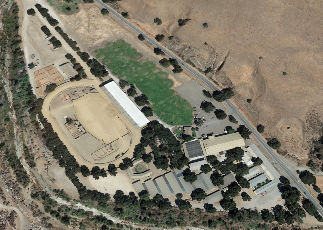 Bolado Park. Photo courtesy of Google Earth.