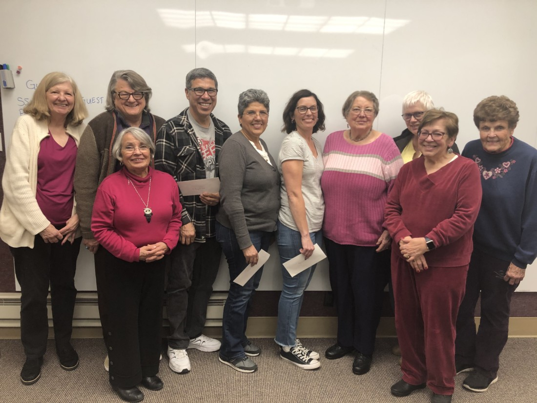 Kathy Larabell, Geoff Holland, Anthony Del Real, Jeanne Ramos, Merrigrace Montoya, Dewsina Young, Sherry Jones, Mary Beth Edwards, Mary Castellano and Amy Holland. Photo provided.