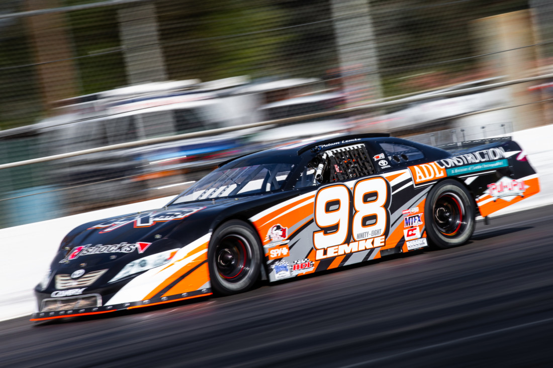 In 2019, Adam drove car #98—a Chevrolet late model stock car—for the Dale Earnhardt Jr. JRM Racing Team.