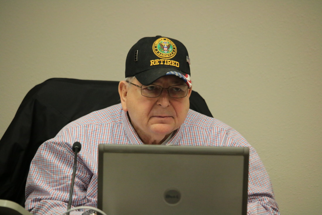 Marty Richman told BenitoLink on March 15 that if he couldn't give 100% to the community, then he had to resign. Photo by John Chadwell.