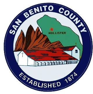 San Benito County Official Seal courtesy of San Benito County