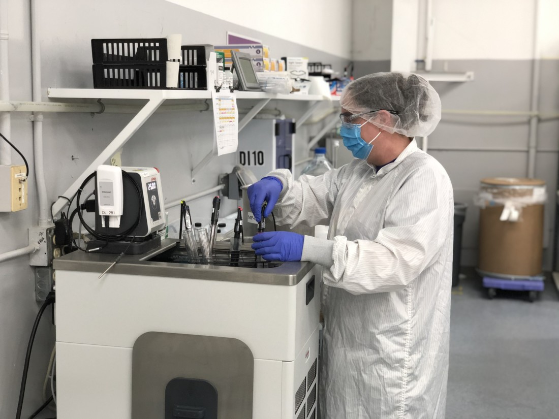 Teknova's 120 employees work to meet the demand for buffers in research to develop COVID-19 vaccines. Photos provided by Teknova.