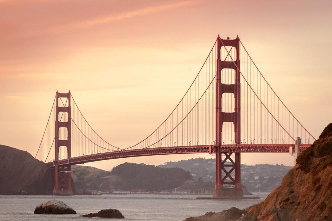 Golden Gate Bridge in San Francisco. Photo courtesy of Pixabay.