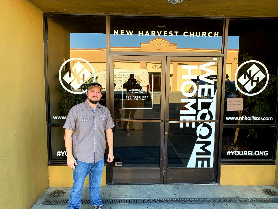 Hensley is a member of New Harvest Church, where plating of the food will take place.