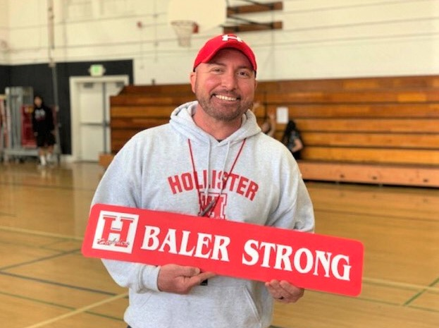 Brian DeCarli has been a physical education teacher for the past 13 years. Photo courtesy of Brian DeCarli.