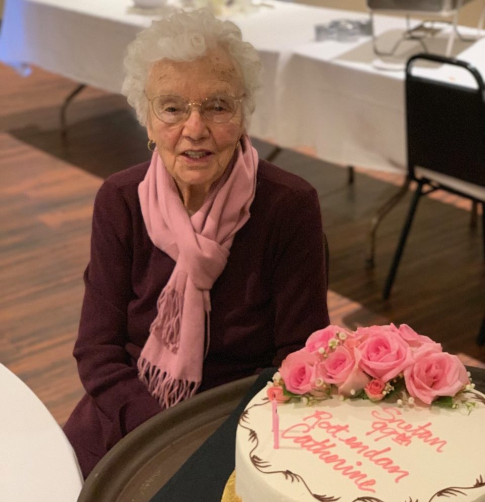 Catherine Dabo at her birthday celebration last year. Photo provided.