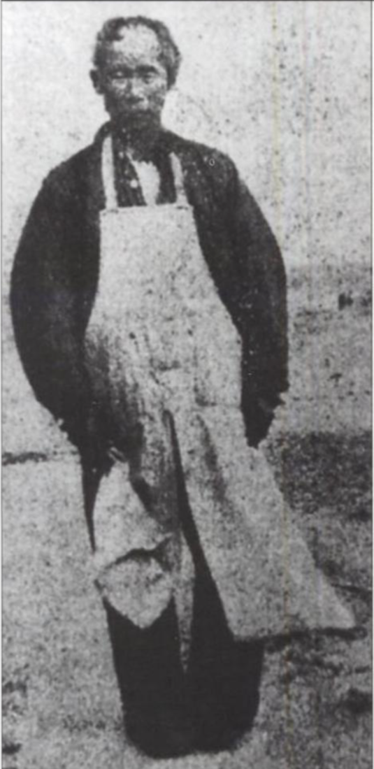The only known image of Jim Jack. Photo courtesy of the San Juan Bautista Historical Society.