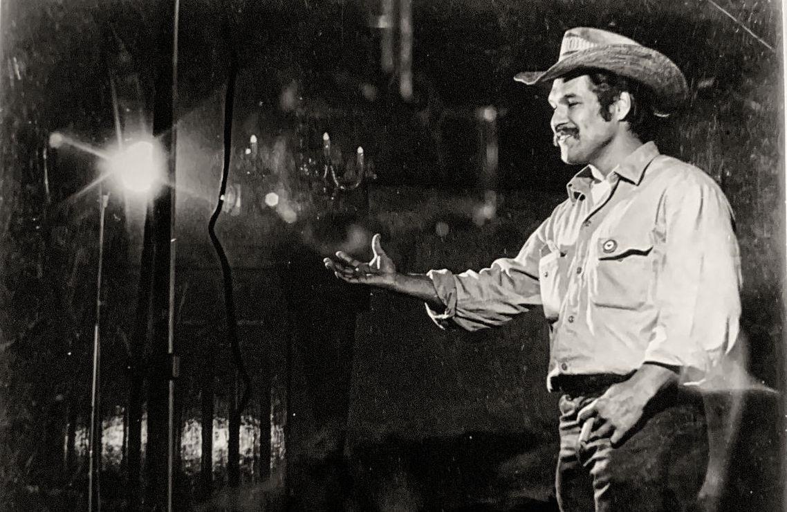 Luis Valdez performing (Courtesy ETC).