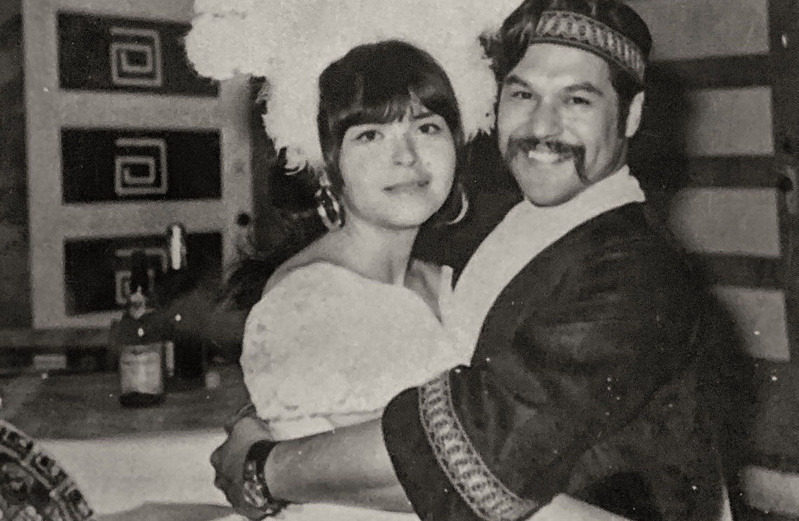 Lupe and Luis Valdez (Courtesy ETC).