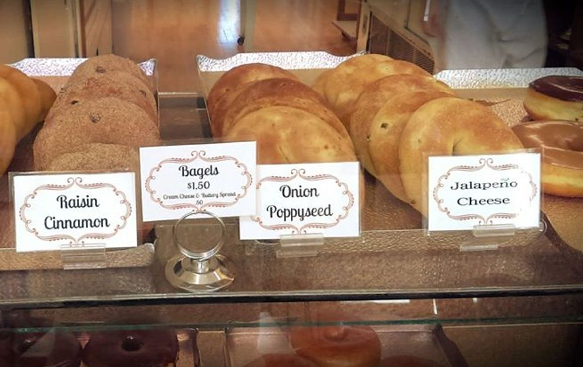 Bagels. Photo courtesy of San Juan Bakery.