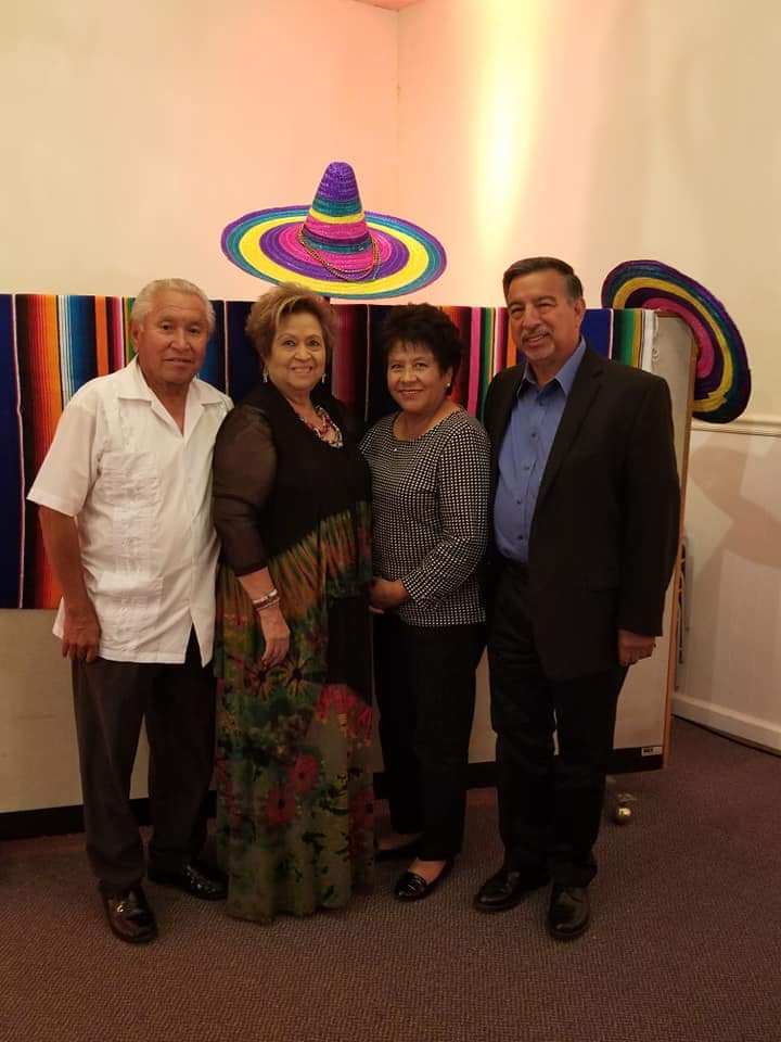 From left: Vince Luna, Mickie Luna, Sylvia Delgado and George Delgado at a MACE event. Photo provided by Veronica Lezama.