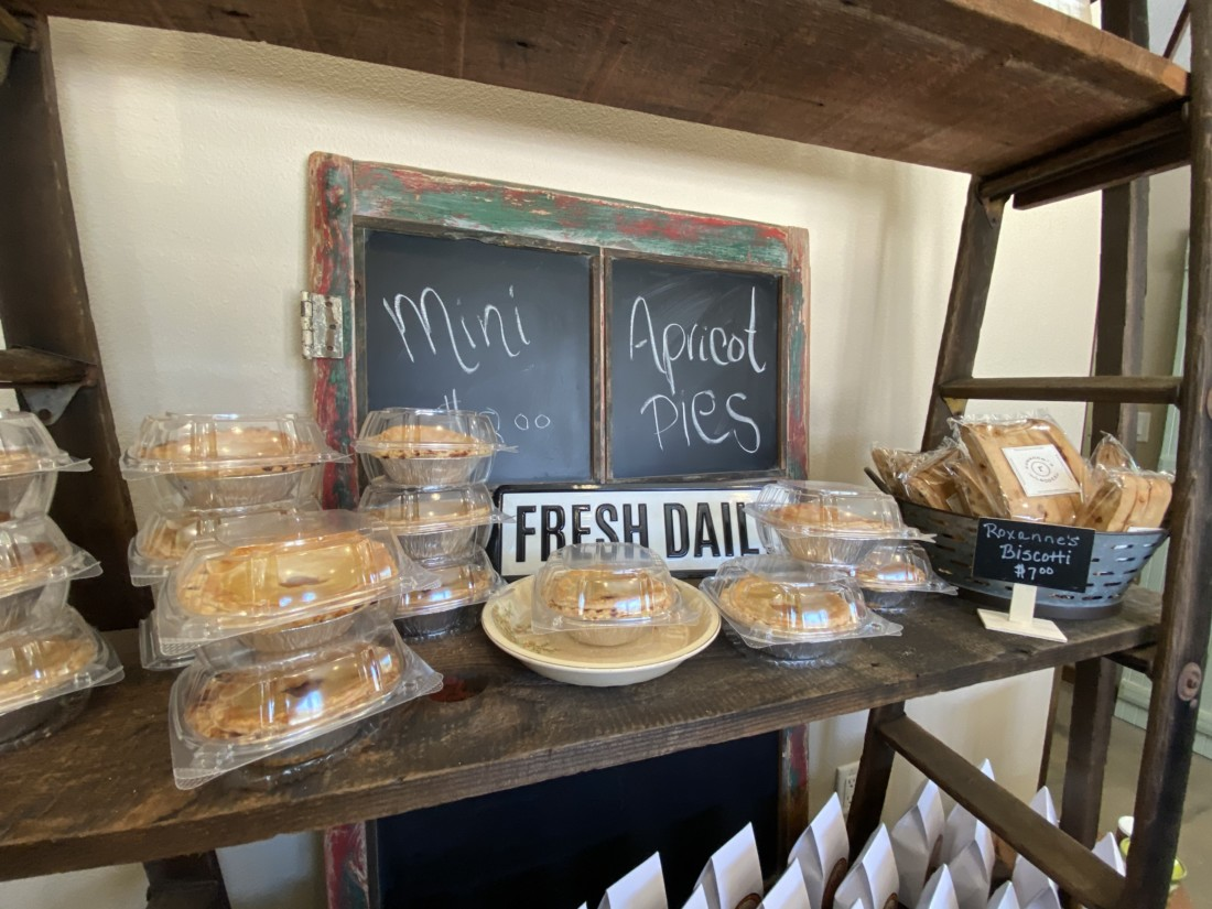 Fresh Baked goods from Heavenly Bakery in Hollister. Photo provided by B&R Farms.