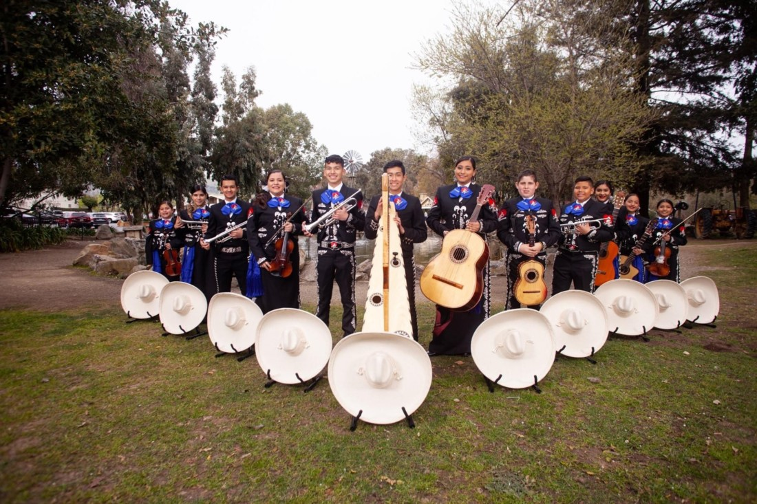 Mariachi Juvenil Corazón Jalisciense is a mariachi youth group based in Hollister. They've had to cancel all events due to the coronavirus pandemic. Photo provided.