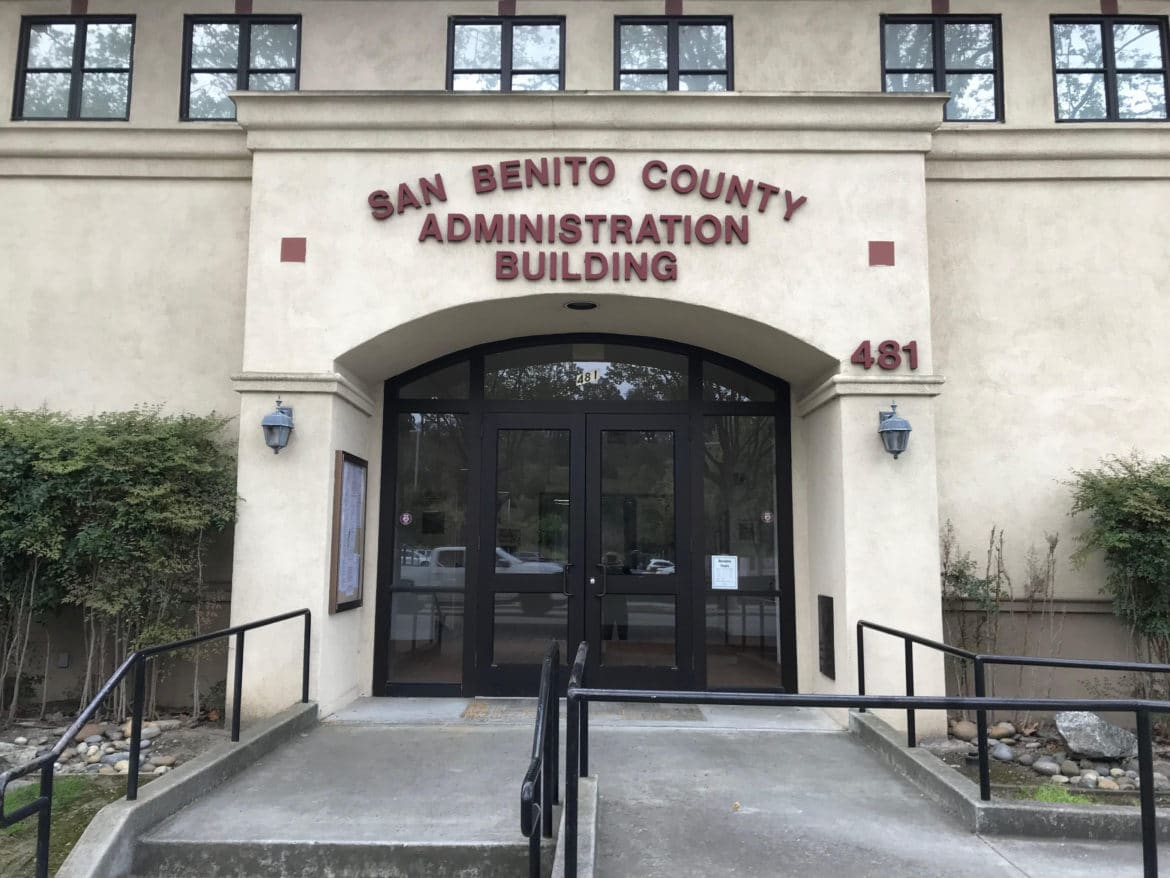 San Benito County Administration Building. Photo provided.
