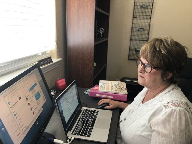 Education Advocate Kim Taylor works to improve education services and communication between parents and schools. Photo provided.