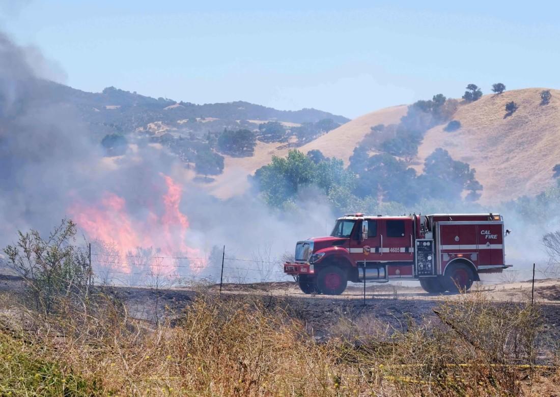 Klamath Fire on June 18. Photos courtesy of John McDonald.