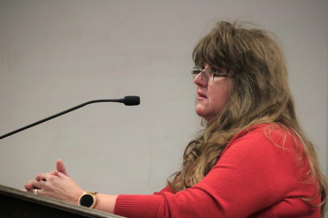 Irma Gonzalez filed two complaints against Councilman Rolan Resendiz amounting to $500,000. File photo by John Chadwell.