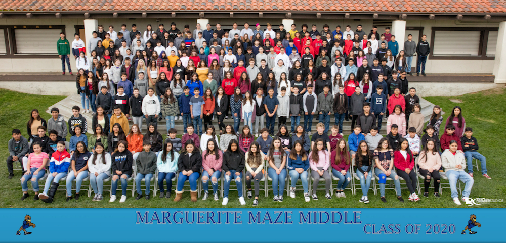 Maze Middle School 8th Grade. Photo provided.