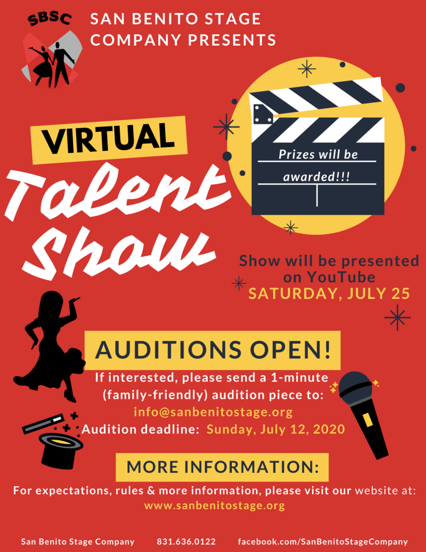 SBSC Virtual Talent Show. Photo by SBSC