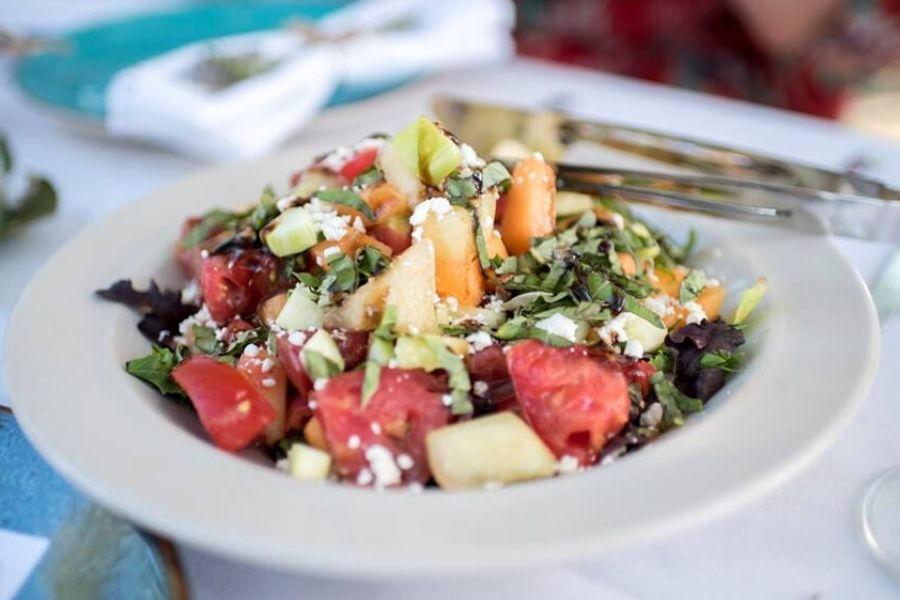 Farm to Table Salad Course. Photo provided by San Benito County Arts Council.